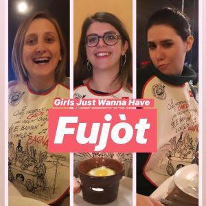 Marta Caminiti, Roma Alla trattoria Panoramica Sarroc, Vignale (AL) Girls just wanna have fujot