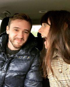 Alessia Galardini, Milano All'agriturismo Cà 'd Pinot, Asti L'amore è… lui al BCD nonostante il suo odio per aglio e acciughe